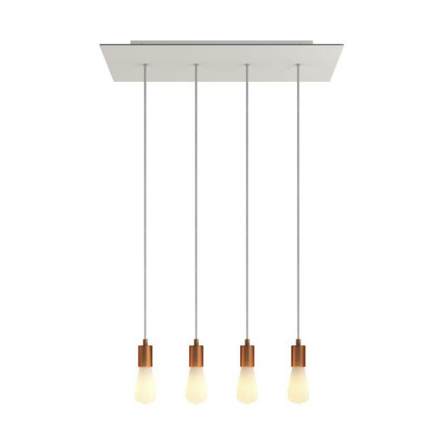 Creative Cables - hanglamp 4L - 67,5 x 120 cm - wit