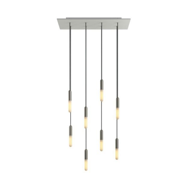 Creative Cables - hanglamp 8L - 67,5 x 130 cm - wit
