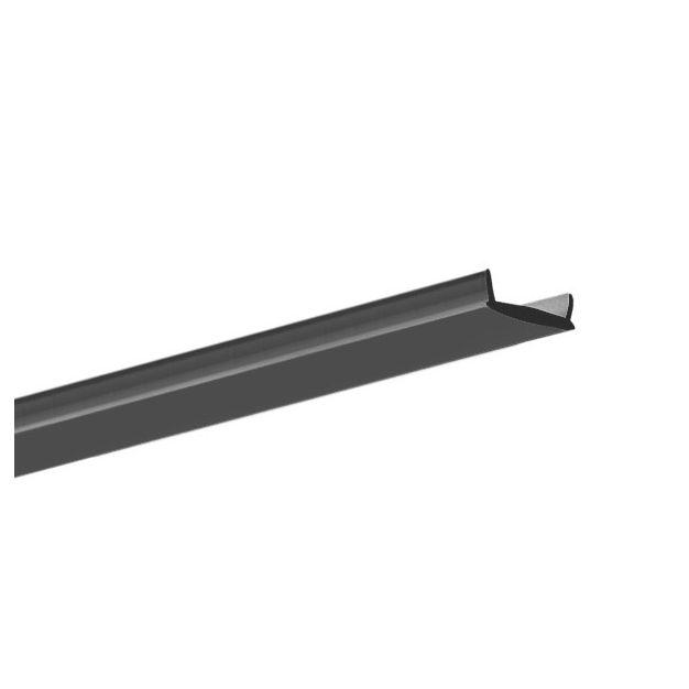KLUS Liger - zwarte transparante afdekkap - 200cm lengte