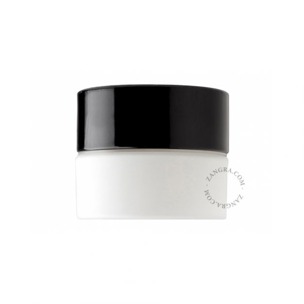 Zangra Pure Porcelain - buiten wandverlichting - ⌀ 8 x 10 cm - IP54 - zwart