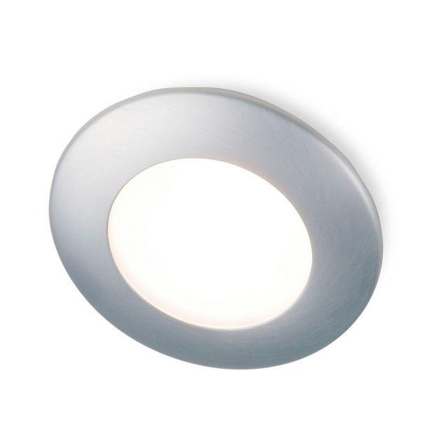 Aqua Round IP65 230V - satijn nikkel