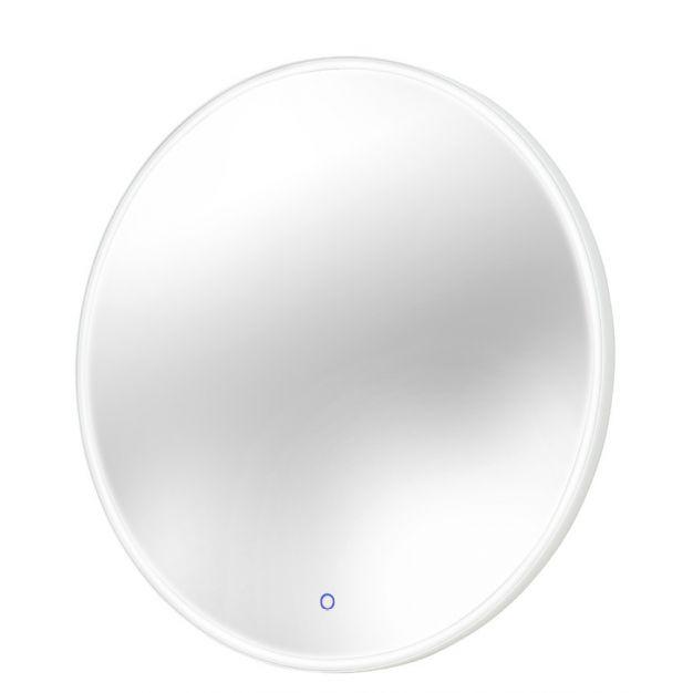 Maxlight Mirror - spiegel met verlichting  - Ø 80 x 3 cm - 23W LED incl. - IP44 - chroom
