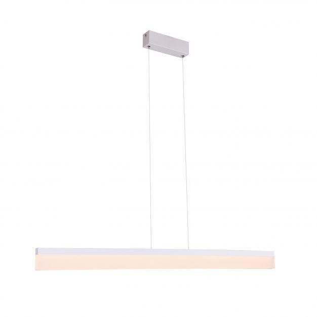 Maxlight Rapid - hanglamp - 118 x 150 cm - 36W LED incl. - wit