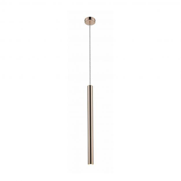 Zuma Line Loya - hanglamp - Ø 3 x 140 cm - 5W LED incl. - goud
