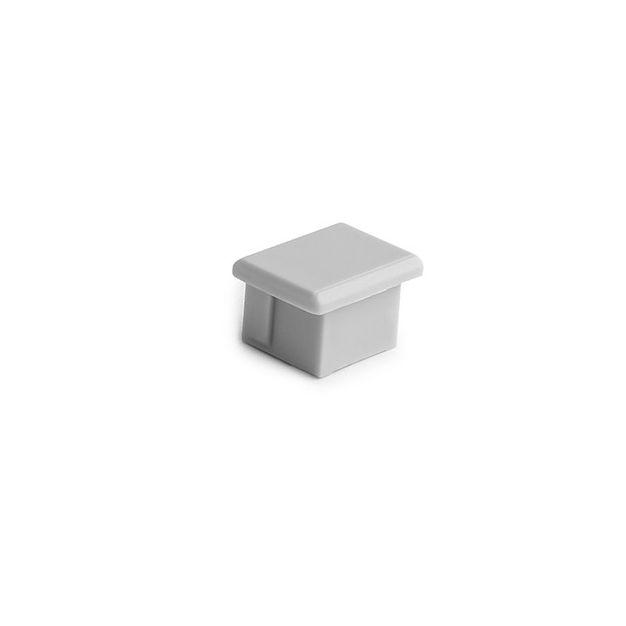 KLUS PDS-4-ALU - eindkapje - grijs
