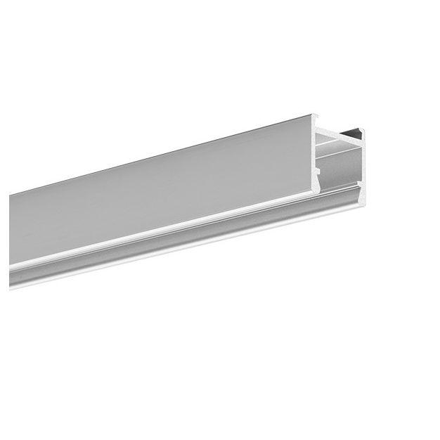 KLUS PDS-H - LED profiel - 1,6 x 1,6 cm - 200cm lengte - geanodiseerd zilver