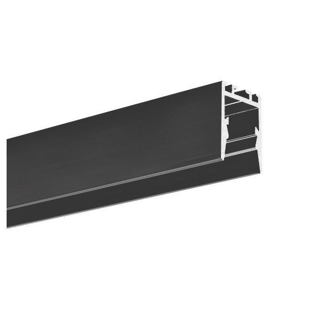 KLUS PDS-ZMG - LED profiel voor een smallere lichtbundel - 1,66 x 2,2 cm - 200cm lengte - zwart