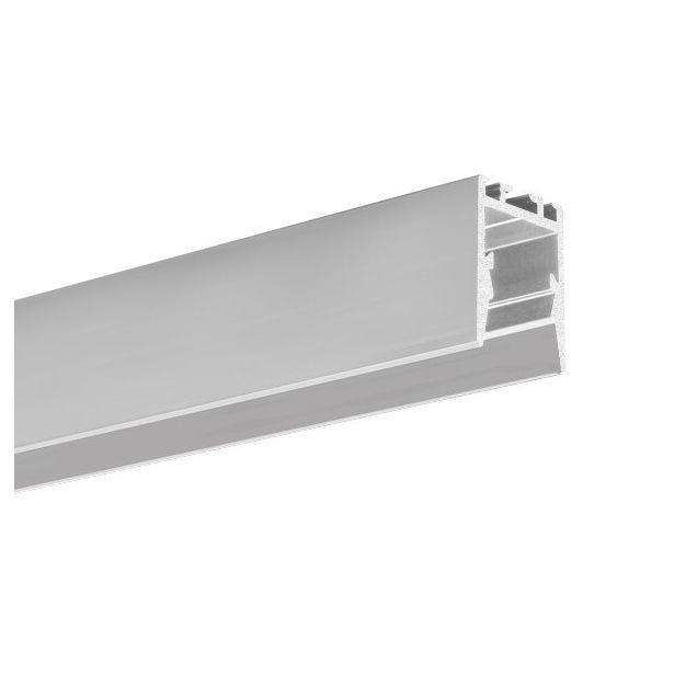 KLUS PDS-ZMG - LED profiel voor een smallere lichtbundel - 1,66 x 2,2 cm - 200cm lengte - geanodiseerd zilver