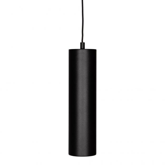 Projectlight Artemis - hanglamp - Ø 8 x 200 cm - zwart