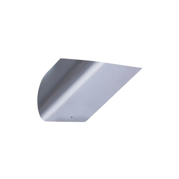 Zuma Line Luxe - wandverlichting - 16 x 15 cm - satijn chroom
