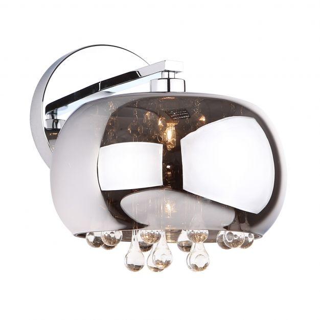Maxlight Moonlight - wandlamp - 25 x 20 cm - glas