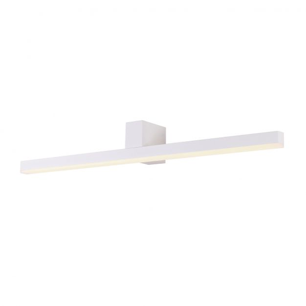 Maxlight Longbeam - spiegellamp - 60 x 7 cm - 4W LED incl. - IP54 - wit