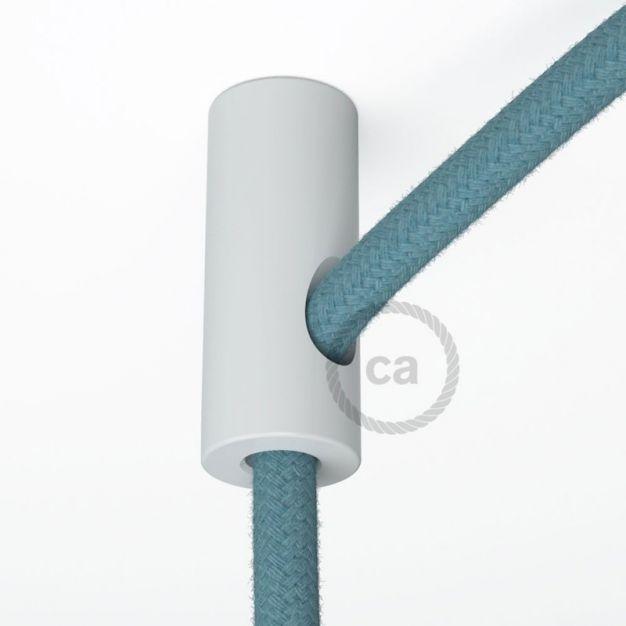 Creative Cables - decentralisatiepunt - Ø 2 x 4 cm - wit