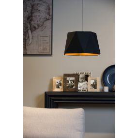 Lucide Alegro - hanglamp - Ø 42 x 140 cm - zwart