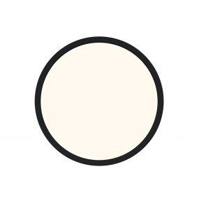 Nordlux Oja - badkamer plafondverlichting - Ø 29,4 x 2,3 cm - 3 stappen Moodmaker SceneSelect functie - 14,5W LED incl. - IP54 - zwart