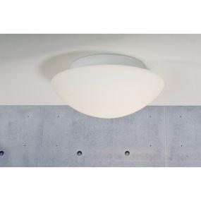 Nordlux Ufo - plafondverlichting - Ø 22,5 x 10,5 cm - IP44 - wit