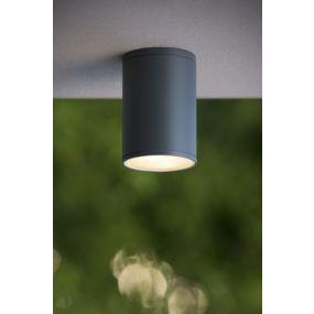 Lucide Tubix - buiten plafondverlichting - Ø 10,8 x 15,3 cm - IP54 - zwart