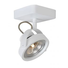 Lucide Tala 1 - opbouwspot - 12 x 20 x 12 cm - 12W dimbare LED incl. - wit