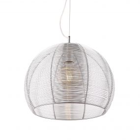Maxlight Pazifik - hanglamp - Ø 35 x 120 cm - aluminium