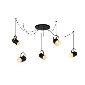 Lucide Swapp - hanglamp - 350 x 200 cm - zwart