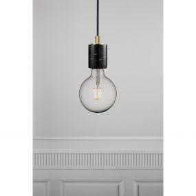 Nordlux Siv - hanglamp - Ø 6 x 280 cm - zwart