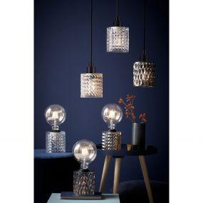 Nordlux Hollywood - hanglamp - Ø 10,8 x 317,7 cm - transparant