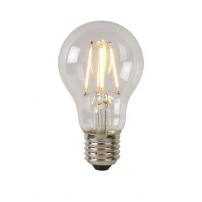 Lucide LED filament lamp - Ø 4 x 10,5 cm - E27 - 5W dimbaar - 2700K - transparant