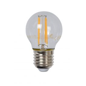 Lucide LED filament lamp - Ø 4,5 x 7,4 cm - E27 - 4W dimbaar - 2700K - transparant