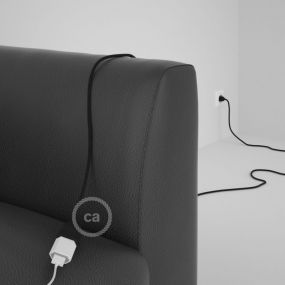Creative Cables - verlengsnoer - 3m snoer - zwart