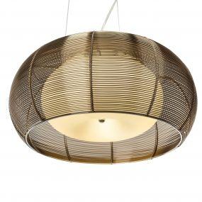 Relax hanglamp 40cm - brons
