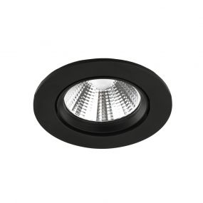 Nordlux Fremo - inbouwspot - Ø 85 mm, Ø 72 mm inbouwmaat - 5,5W dimbare LED incl. - IP23 - zwart