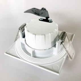 Nordlux Apollo - set van 3 - 5,5W LED incl. - 85 x 85 mm, Ø 72 mm inbouwmaat - IP65 - wit