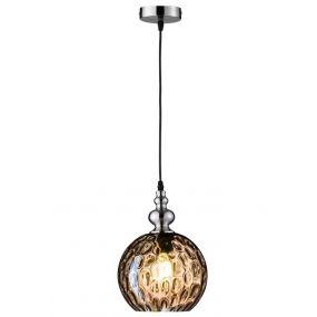 Fischer & Honsel Uller - hanglamp - Ø 20 x 140 cm - amber