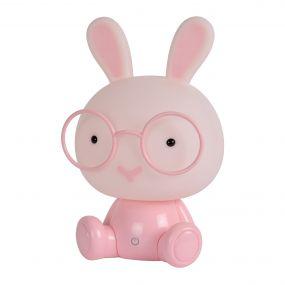 Lucide Dodo Konijn - kinderlamp - 30 cm - 3W dimbare LED incl. - roze