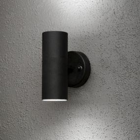 Konstsmide Modena Up&Down - wandverlichting - 9 x 17 x 6 cm - IP44 - zwart