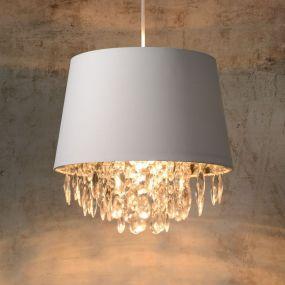 Lucide Dolti - hanglamp - Ø 30 x 138 cm - wit