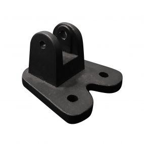 Nova Luce Base - 5,5 x 5,5 x 4 cm - zwart