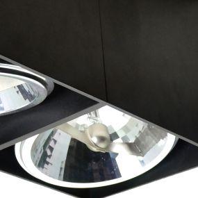 Zuma Line Box SL2 - opbouwspot 2L - 24 x 12 x 12 cm - zwart