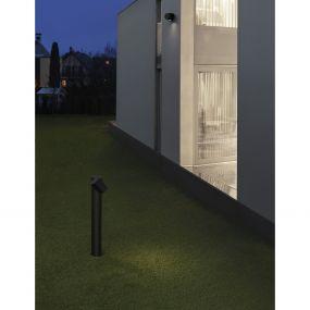 Nova Luce Focus - tuinpaal - 13,8 x 6,8 x 55 cm - IP54 - zwart