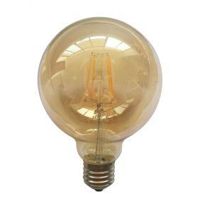 LED-lamp filament - E27 - 6W niet dimbaar - warm wit