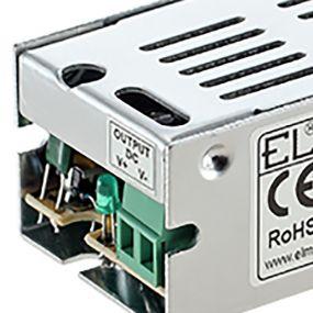 Elmark DC driver - 12Vdc / 230Vac - IP20 - 15W