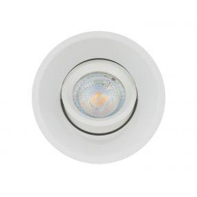 Projectlight Slim Trim - inbouwspot - Ø 94 mm, Ø 84 mm inbouwmaat - wit