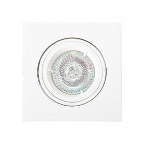 Maxlight Technical Spot - inbouwspot 1L - 95 x 95 mm, Ø 80 mm inbouwmaat - wit