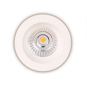 Maxlight Technical Spot H0063 - inbouwspot 1L - 90 x 90 mm, Ø 76 mm inbouwmaat - 7,5W LED incl. - IP65 - wit