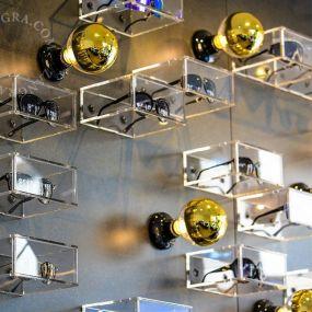 Zangra Puur Porselein - plafond/wandlamp - Ø 10 x 5,5 cm - zwart