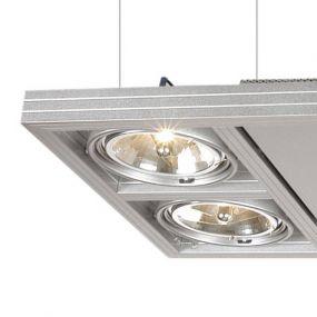 Cool professional hanglamp VI - aluminium (stockopruiming)