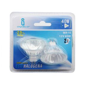 Halogeenlamp (2 stuks) - GU5.3 - 40W - warm wit