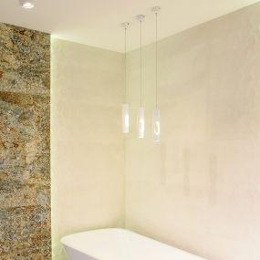 Maxlight Golden - hanglamp - Ø 5 x 120 cm - 5W LED incl. - wit