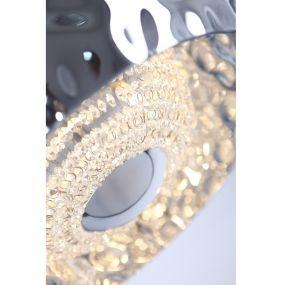 Maxlight Energy - hanglamp - Ø 50 x 147 cm - chroom