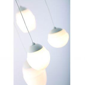 Maxlight Multi - hanglamp - Ø 40 x 100 cm - 16W LED incl. - wit